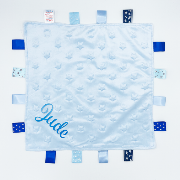Blue Star Comforters with Taggies