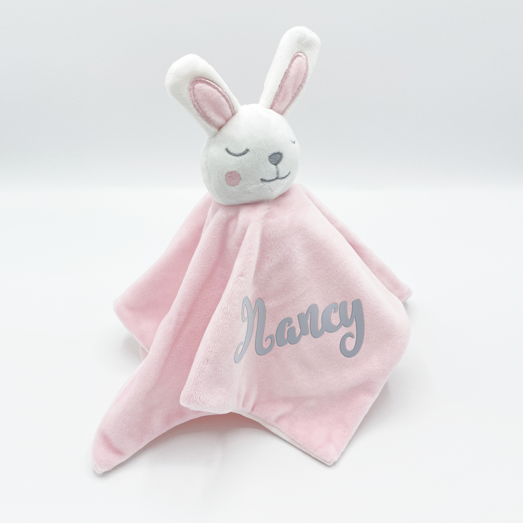Baby Bunny Comforter Pink