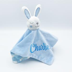 Baby Bunny Comforter Sky