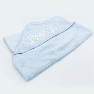 Baby Hooded Towel – Plain – Pink
