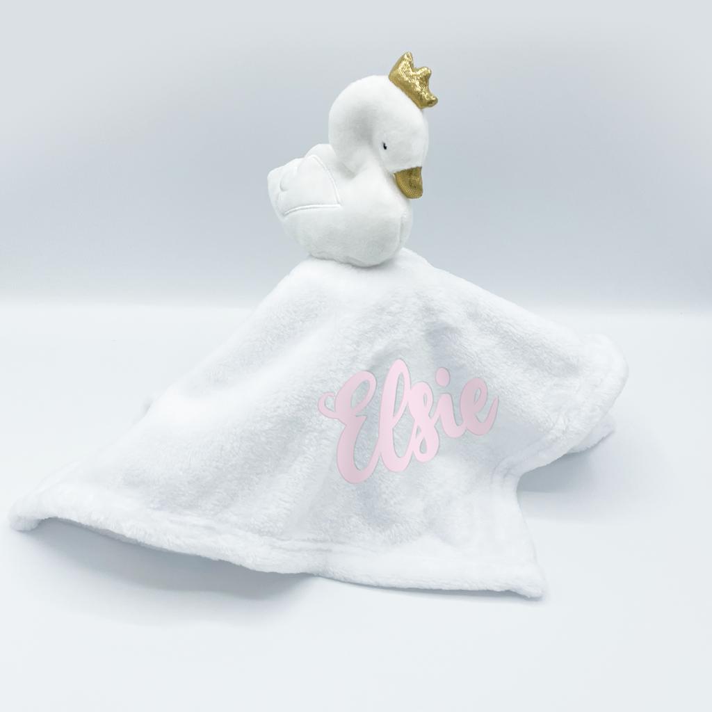 Baby Town White Swan Comforter