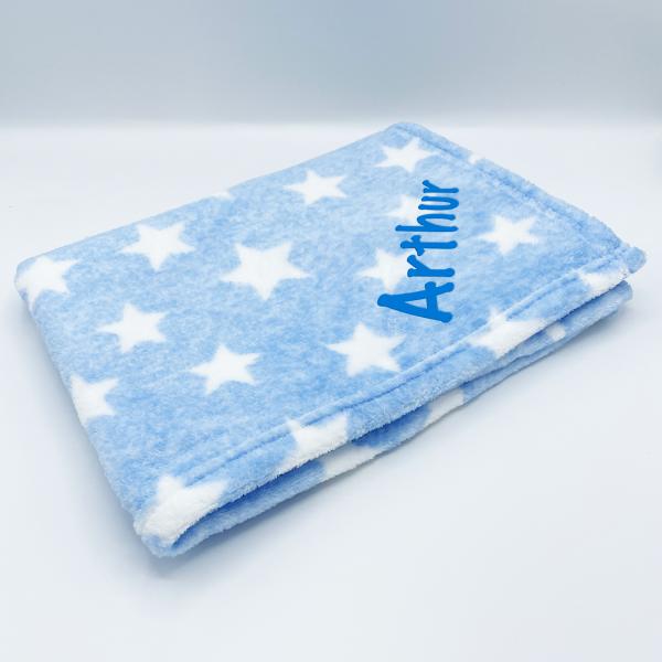 Supersoft Star Fleece Baby Blanket