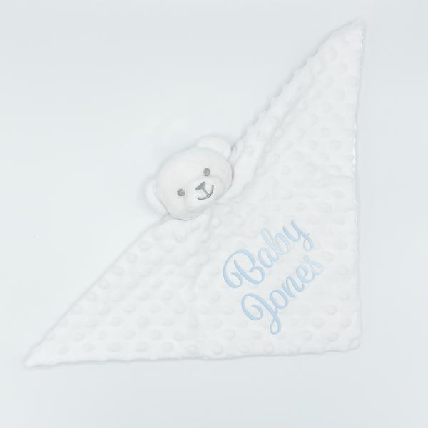 White Baby Bear Comforter