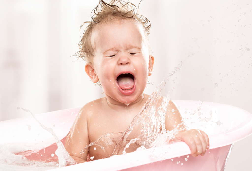What to do if your baby hates baths