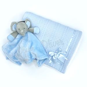 personalised elephant gift set