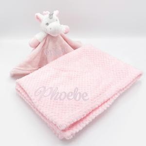 personalised unicornj gift set