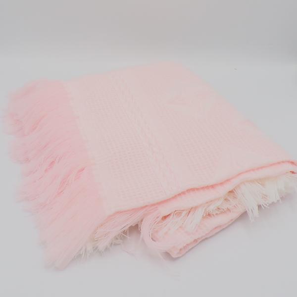 Personalised Baby Pink Shawl