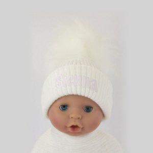 White-Pom-Pom-Hat-Girl